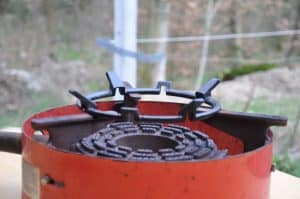 clasic outdoor burner adapted for wok with wok ring profamilychef.com