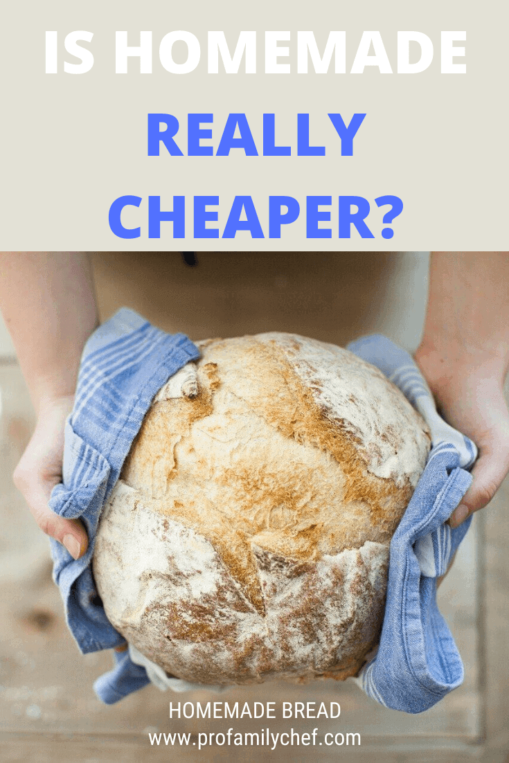 is homemade bread really cheaper