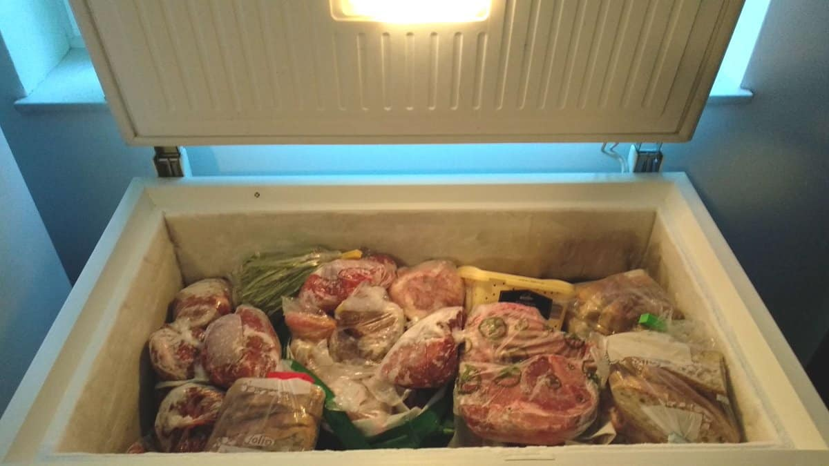 pro family chef.com chest freezer clearing the ice without defrosting