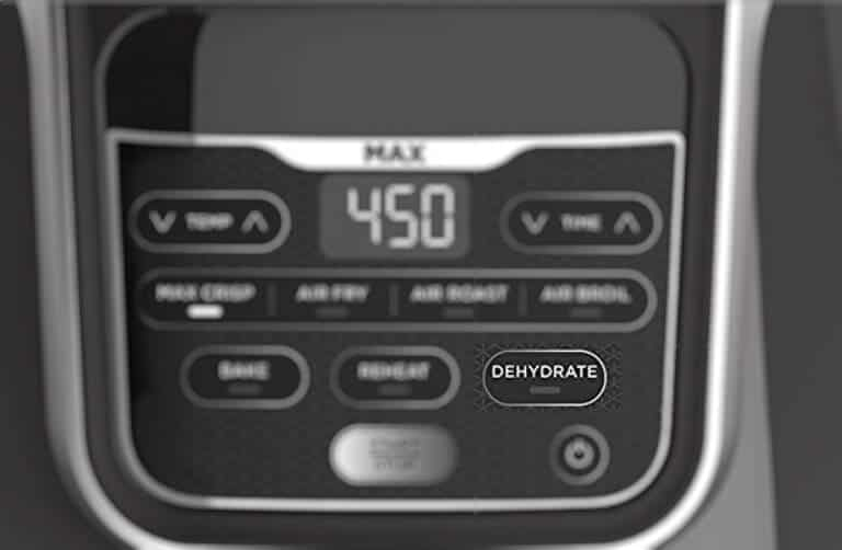 Dehydration function on air fryer for beef jerky