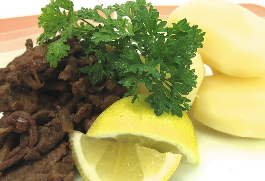 Old fashioned veal liver and onions recipe