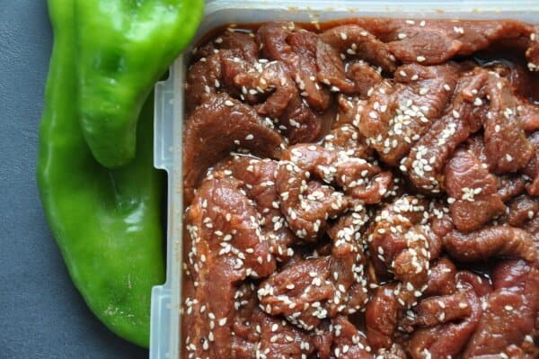 meat marinade for homemade air fried beef jerky