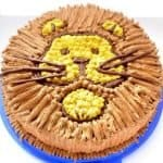 How to make a lion cake, cherry, and chocolate desert
