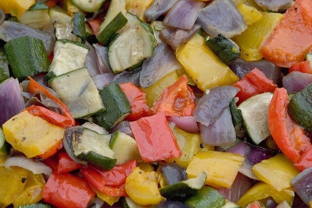 roasted vegetables for a large crowd
