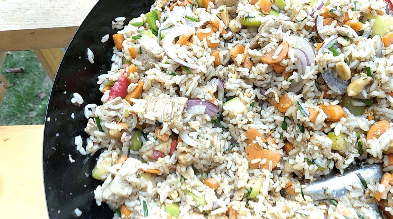 tiny stir fried rice for a crowd pro family chef
