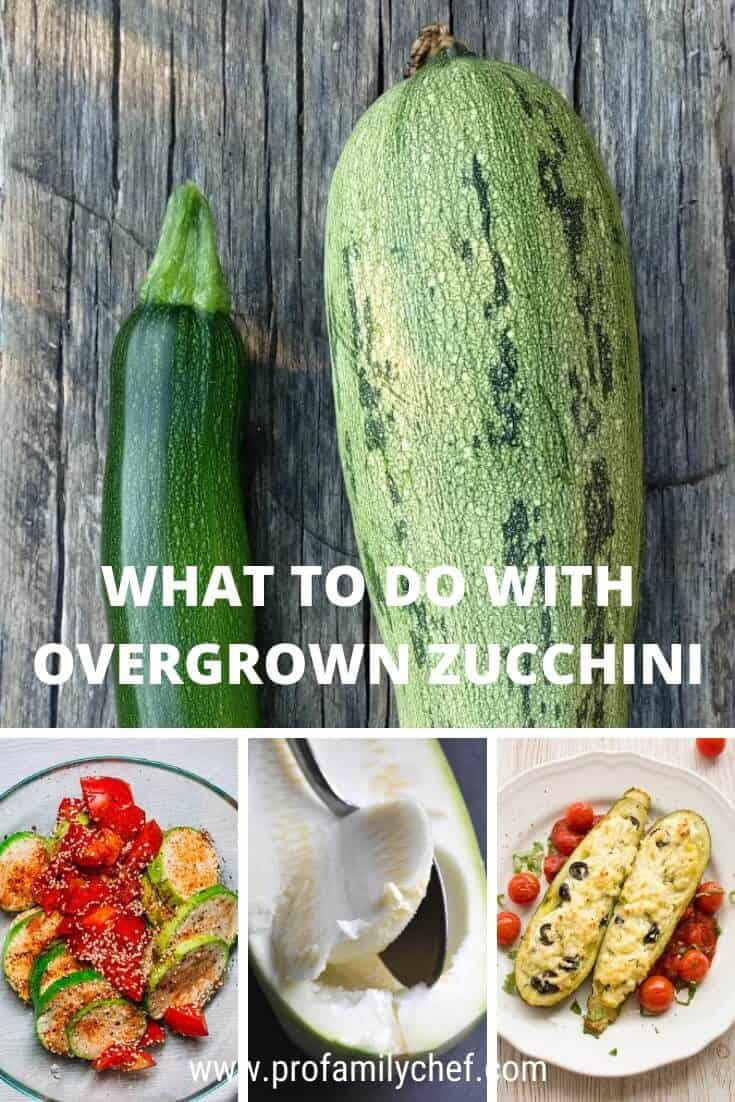 what to do with overgrown zucchini