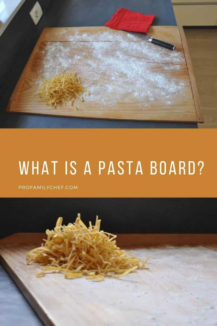 what is a pasta board pin
