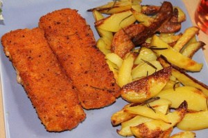 fish fingers breaded fish for air fryer