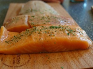 salmon fillets for air fryer