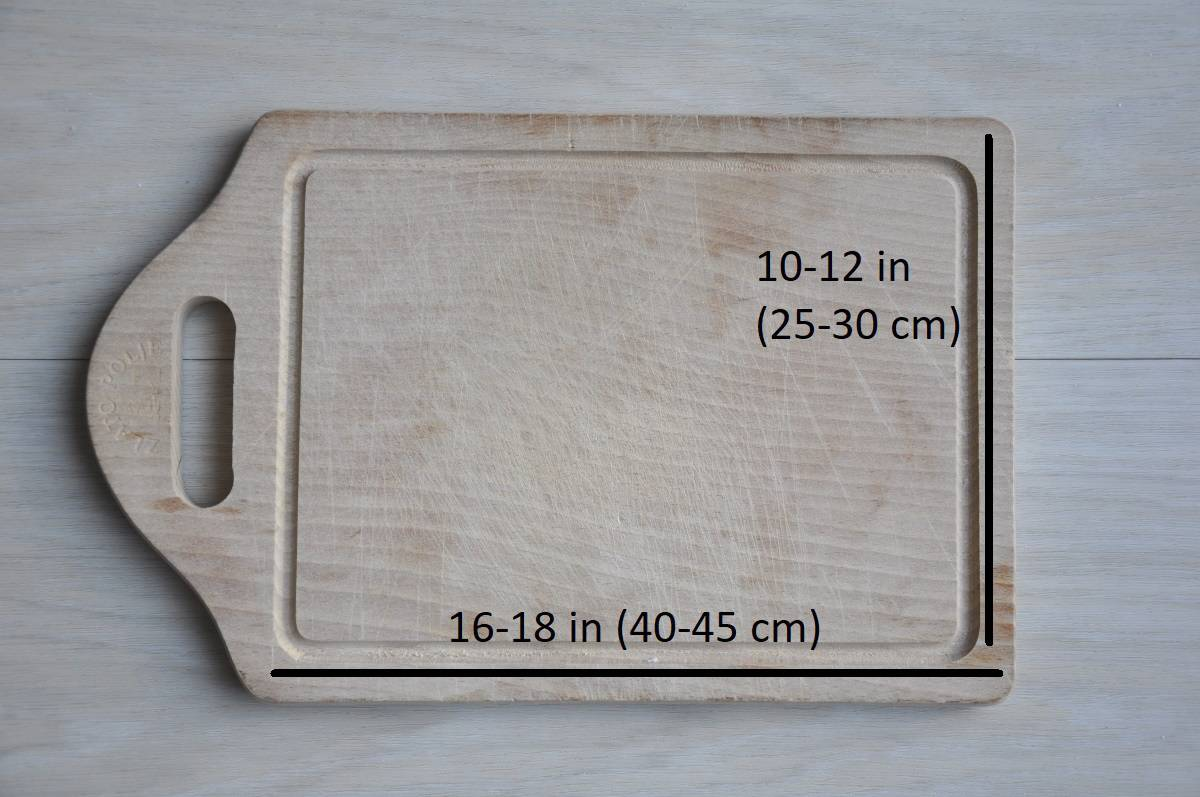 Best size for a cutting board 10_12inch 16_18inch