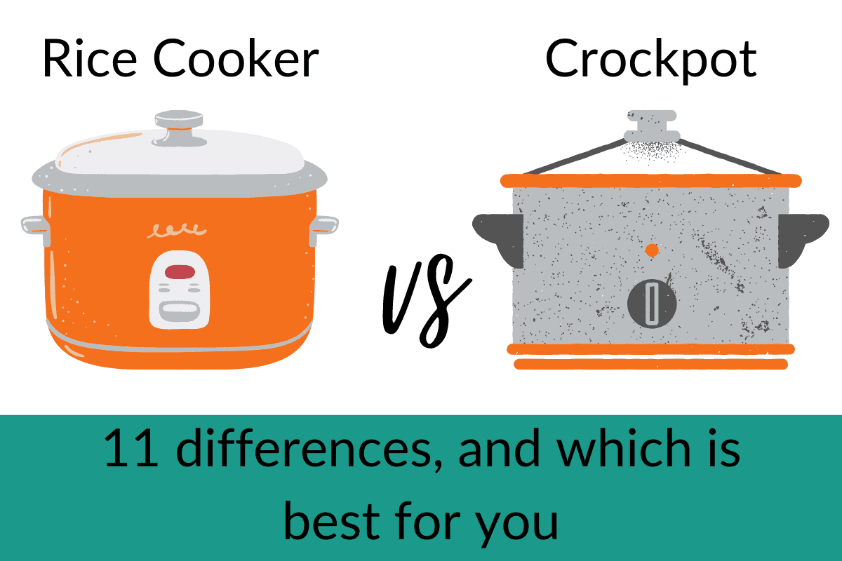 rice cooker vs crockpot 11 differences
